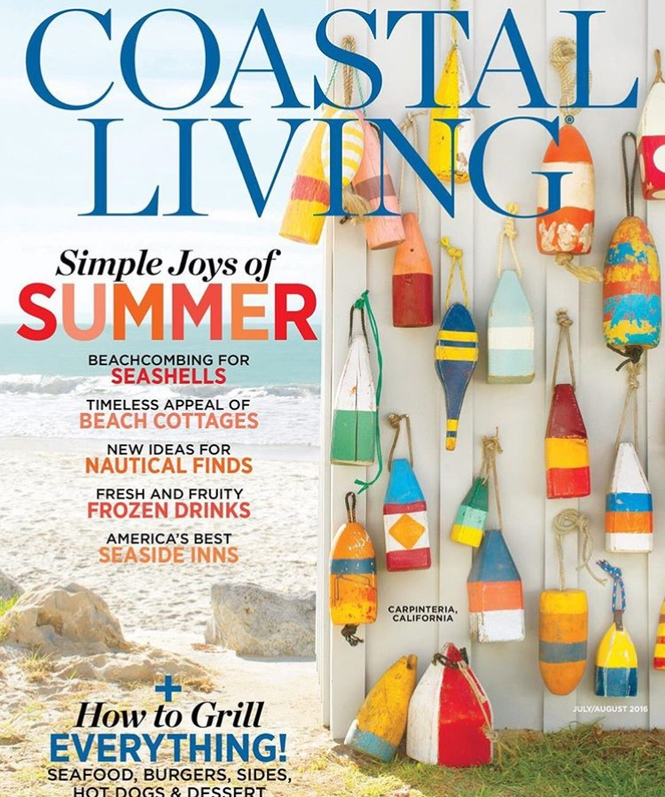 Coastal Living Ad Is Out! The Buoys Are In.
