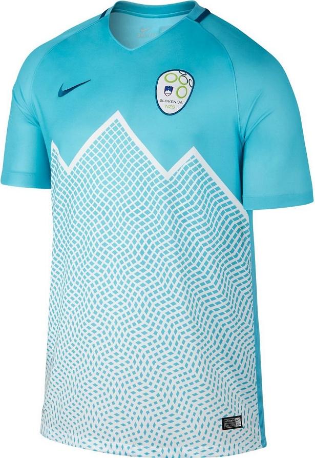 1015f3df6d4f5 Nike divulga as novas camisas da Eslovênia - Show de Camisas