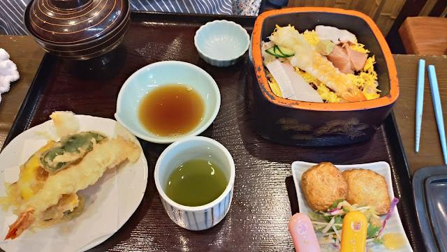 いけ洲居酒屋 むつ五郎 ちらし寿司御膳