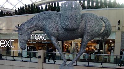 Equus Altus sculputre, Trinity shopping centre, Leeds