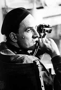 Ingmar Bergman. Director of The Seventh Seal