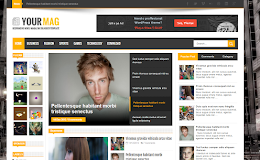YourMag Media blogger template