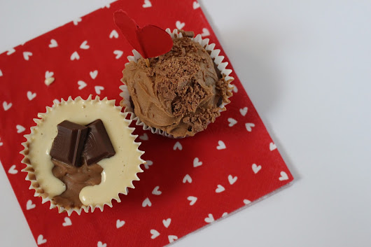 Valentine's Bakes: Mocha and Smore Cupcakes