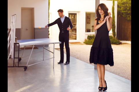 The Fantastic Fashion World: Xabi Alonso y Nagore Aramburu ...
