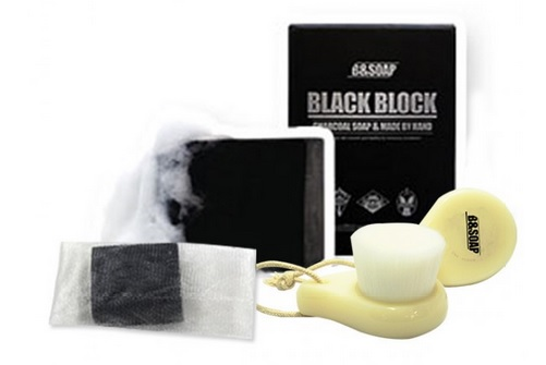 B&Soap Charcoal Cleansing Bar