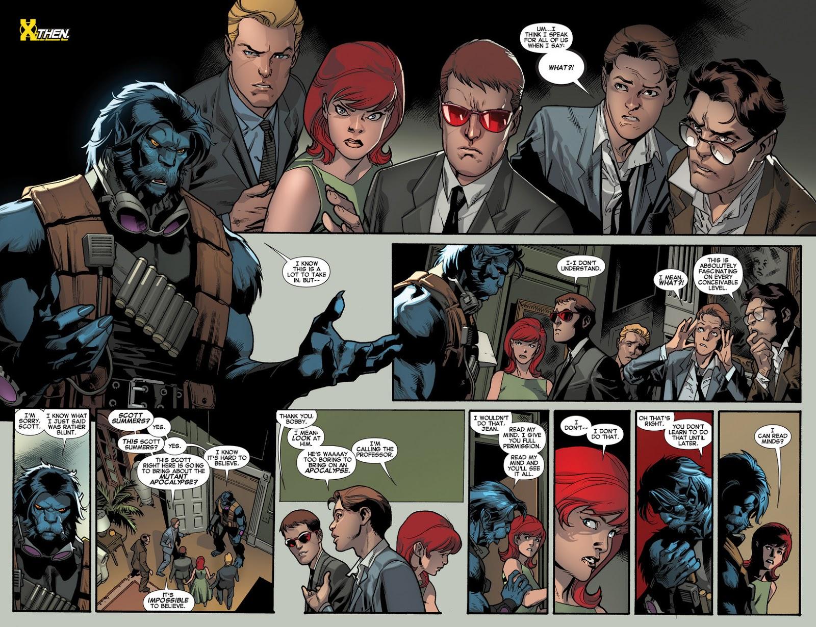 """Reseña de """"Marvel Now! Deluxe. La Nueva Patrulla-X"""" vol.1 de Brian Michael Bendis y Stuart Immonen - Panini Comics"""