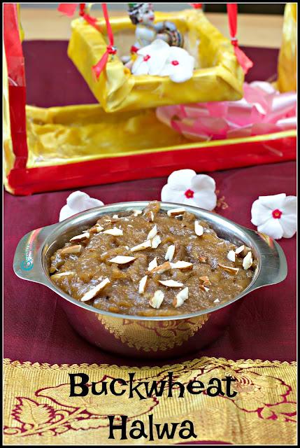 Kuttu Ka Halwa | Buckwheat Flour Halwa Recipe