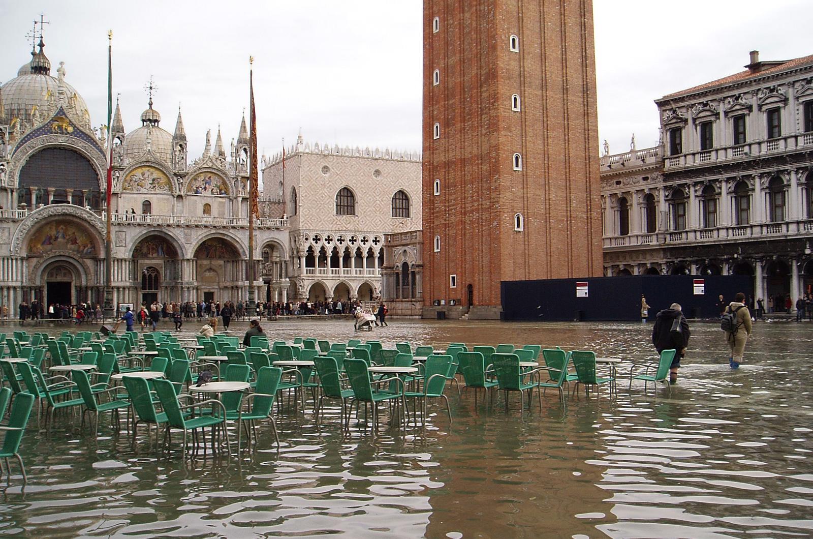 Wszystko, co musisz wiedzieć o wysokiej wodzie w Wenecji