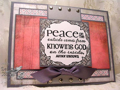 "Our Daily Bread designs ""Peace - the Full of Grace Collection"" Designer Debi Southard"