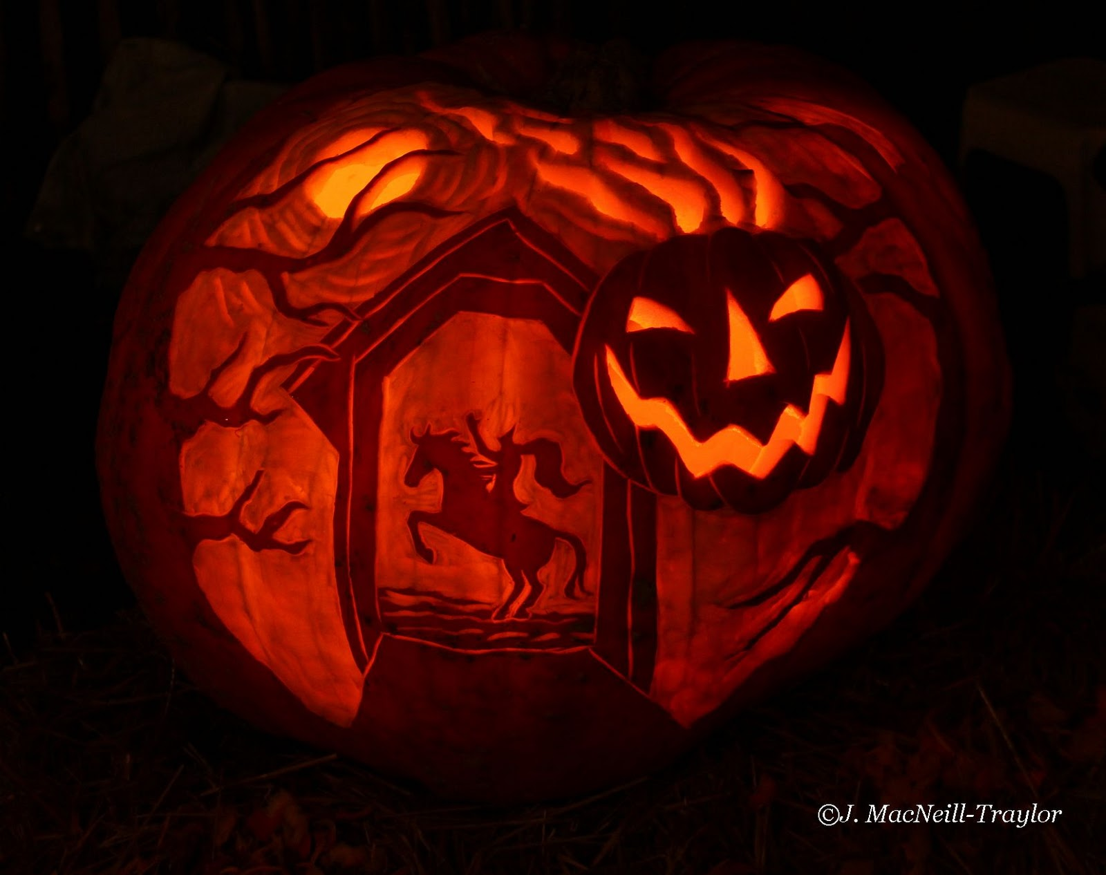 Sleepy Hollow Ford >> The Mare's Tales - Gypsy Mare Studios: Great Pumpkin Carve