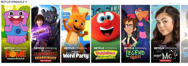 Netflix Originals for Kids
