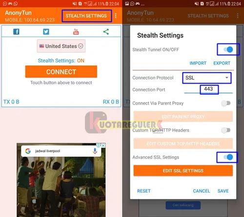 Android Epic Cara Mengubah Kuota Videomax Dengan Anonytun