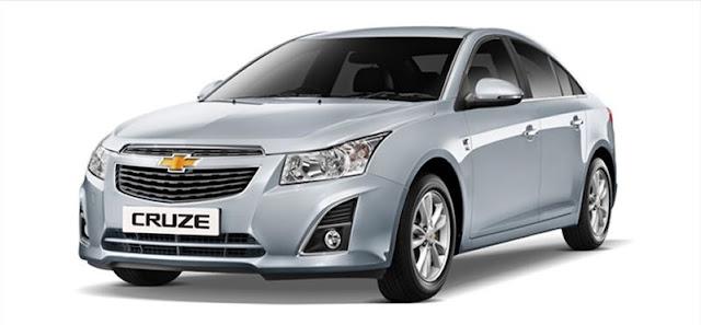 Harga dan Spesifikasi Chevrolet Cruze