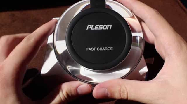 Pleson Ultra Slim Wireless Fast  Charger