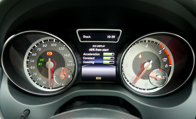 Mercedes-Benz GLA-Class 200 CDI AMG Line instrument panel
