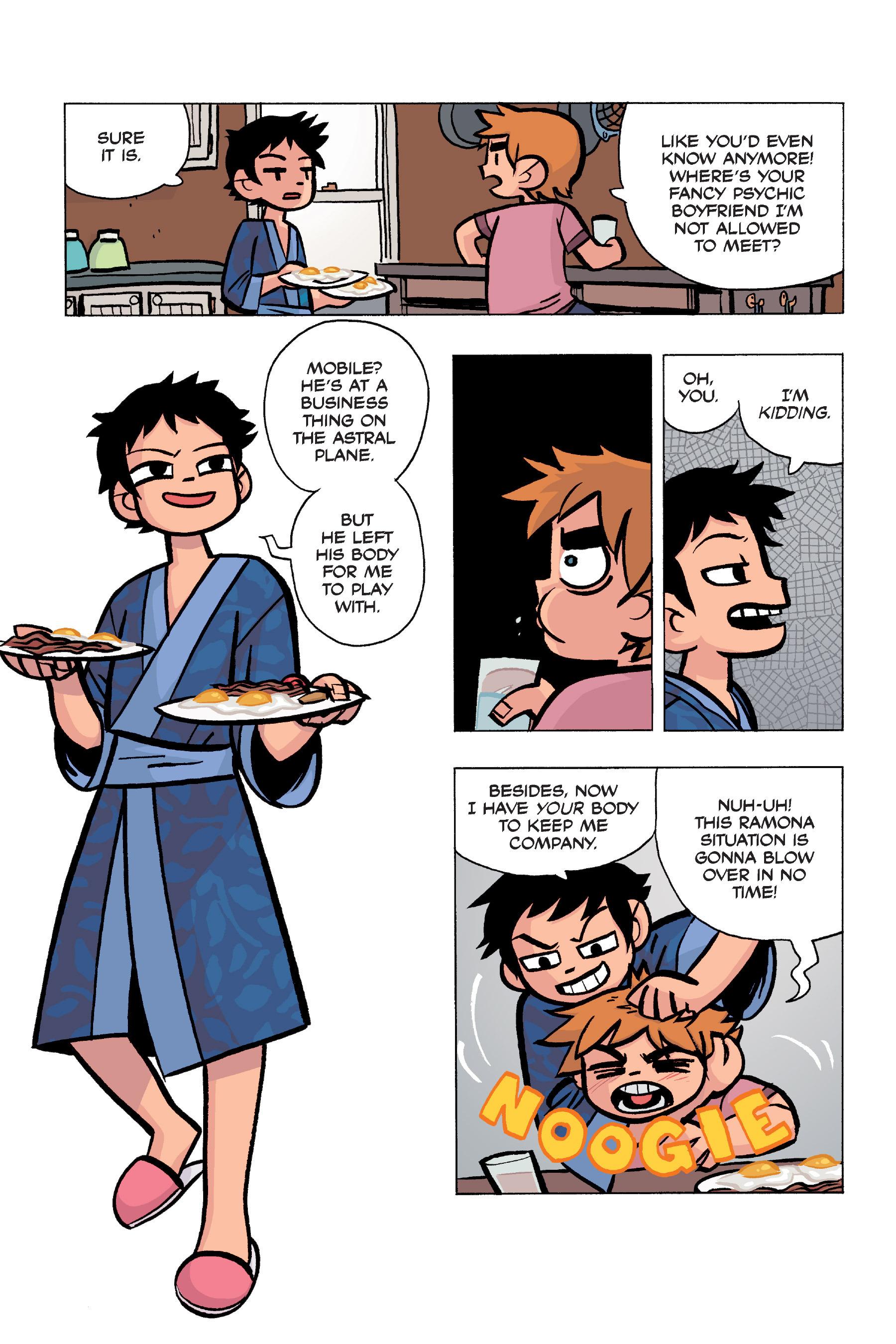 Read online Scott Pilgrim comic -  Issue #5 - 62