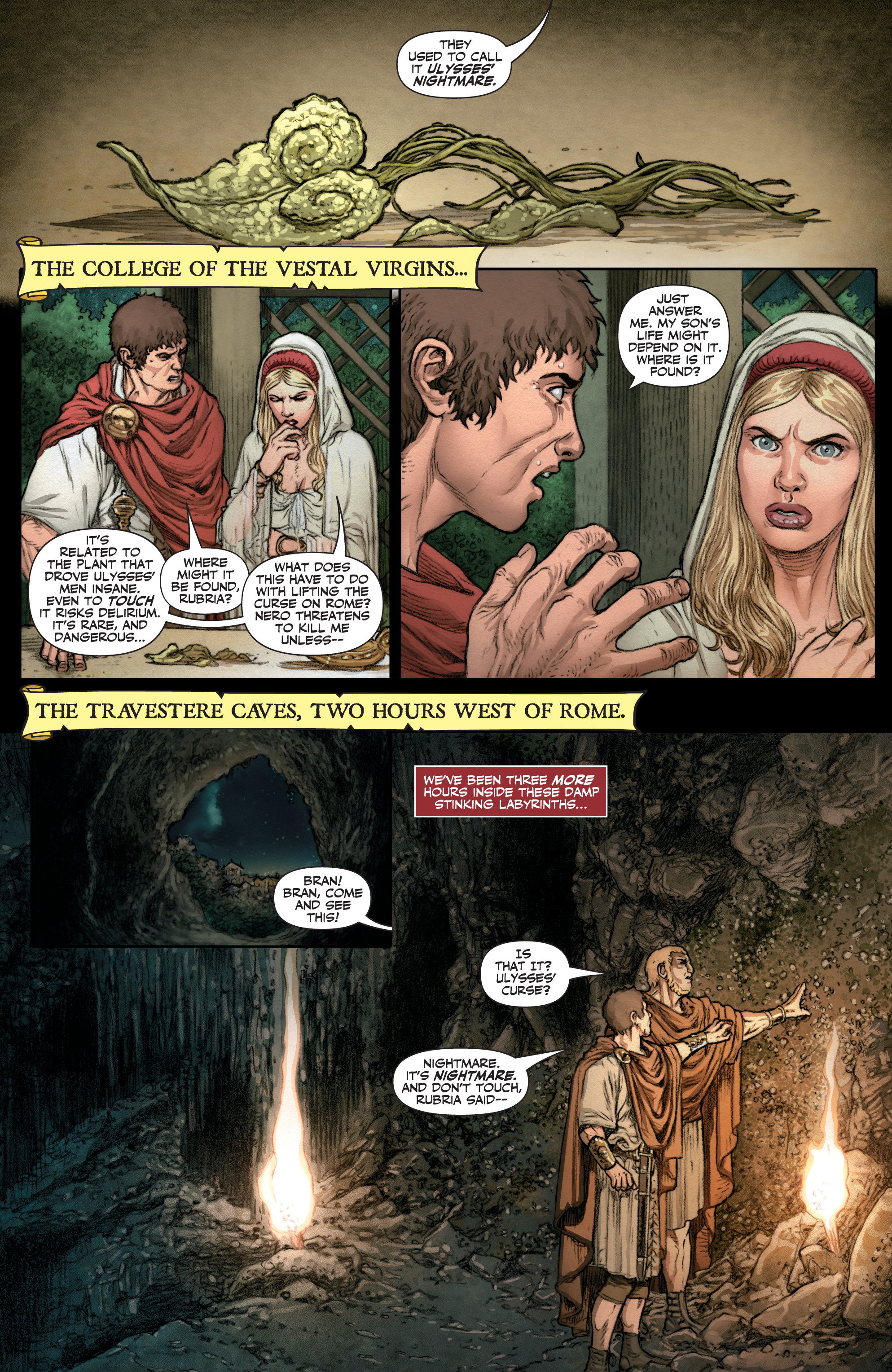 Read online Britannia: We Who Are About To Die comic -  Issue #3 - 22