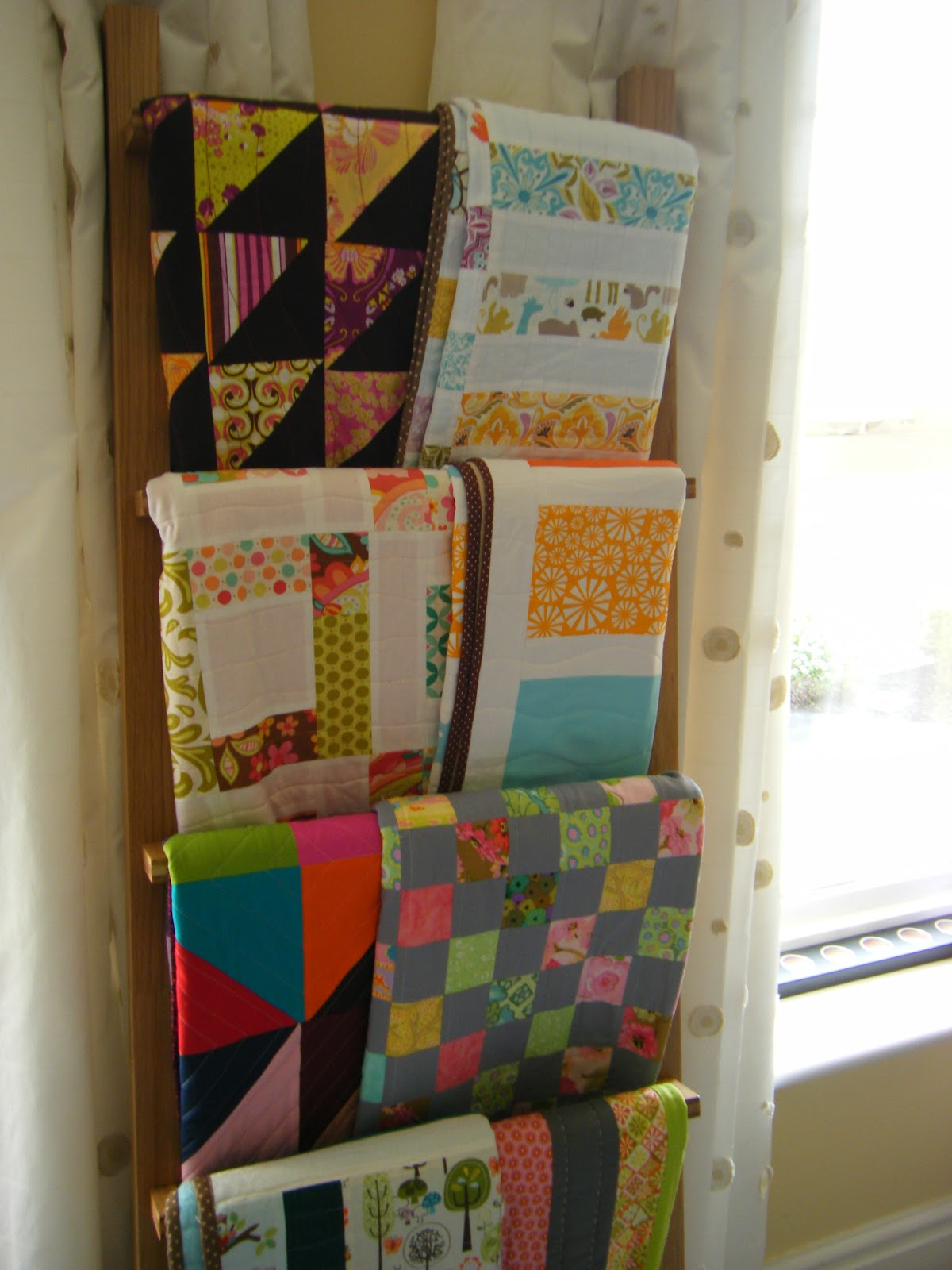 This Creative Bliss My New Quilt Display
