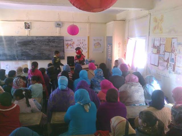 مؤسسة تعليمية بأعالي جبال إقليم الحوز تحتفل بعيد المرأة