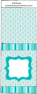 Tiffany with Roses: Free Printable Candy Bar Labels.