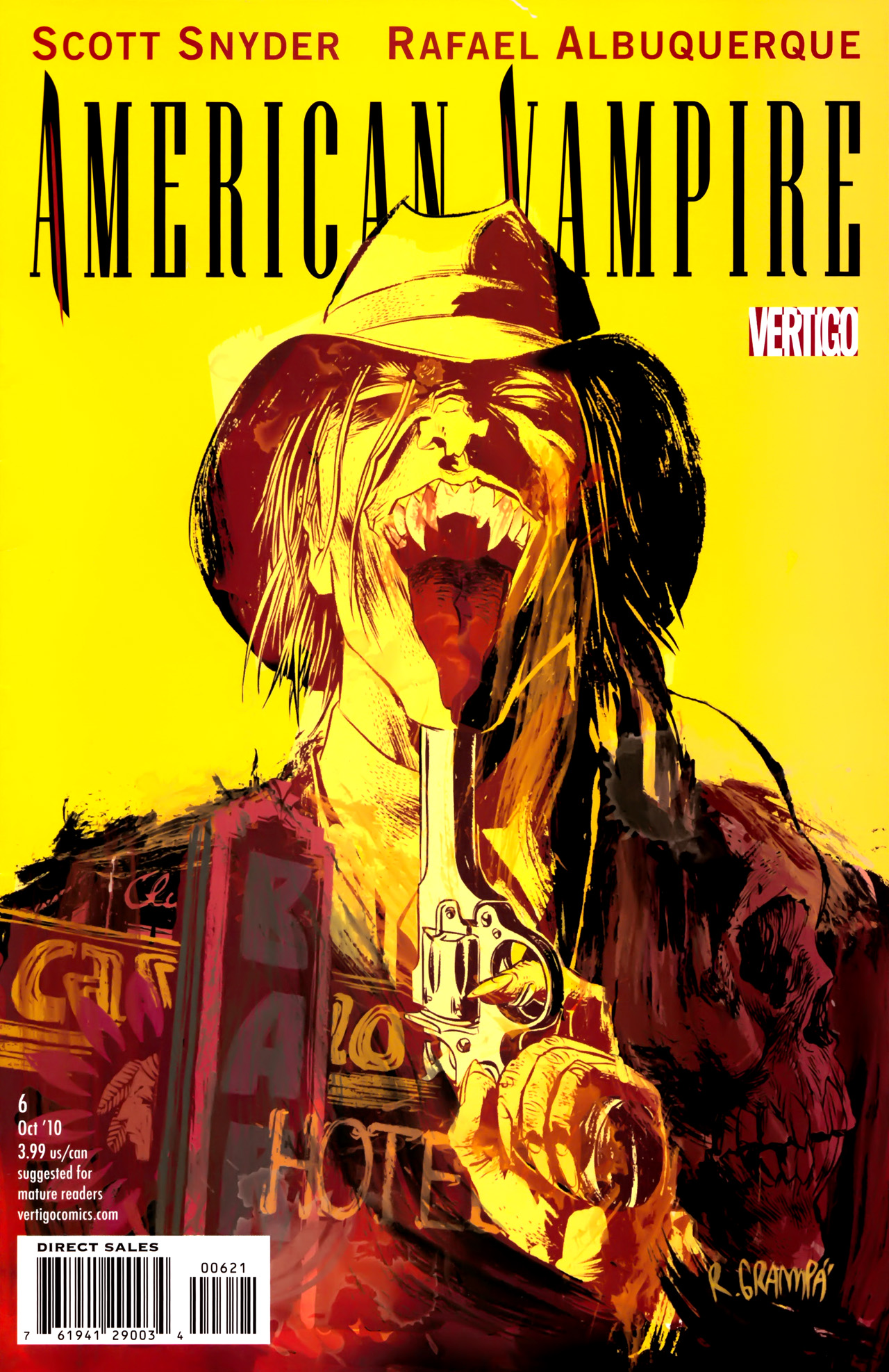 Read online American Vampire comic -  Issue #6 - 2