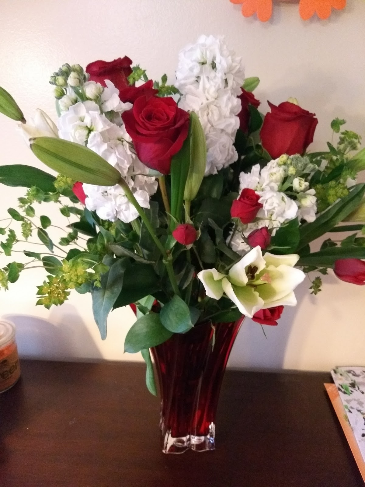 Celebrate valentines day with teleflora handmadebytf love i received the beautiful loves passion bouquet by teleflora and it may be one of the most beautiful bouquets i have ever received or displayed in my home izmirmasajfo