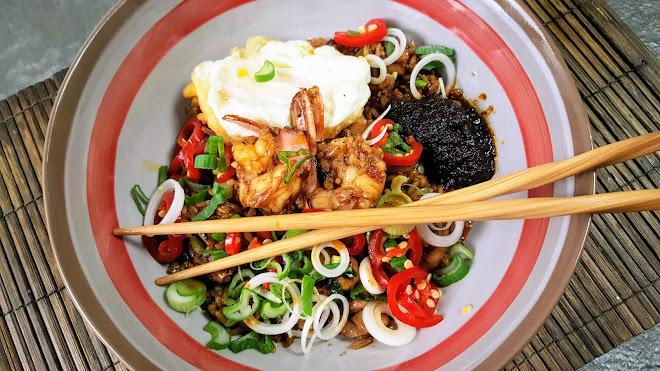 Nasi goreng, riz frit indonésien
