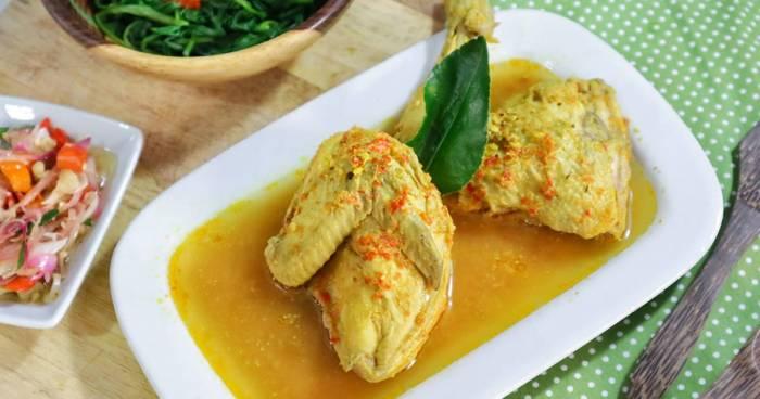 Ayam Betutu Kuah Pedas Khas Bali