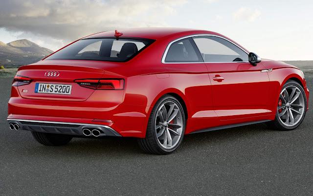 Novo Audi A5 2017 /Audi S5