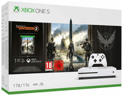 Xbox One S 1 TB + The Division 2