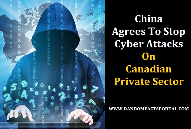 China Agrees To Stop Cyber Attacks On Canadian Private Sector