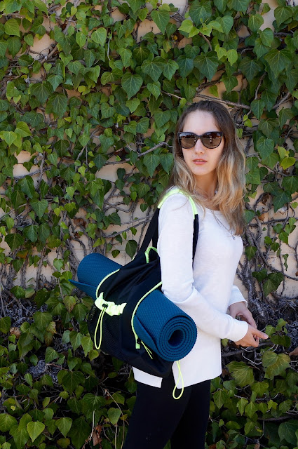 Express Yoga Mat Gym Bag - www.greysuede.com