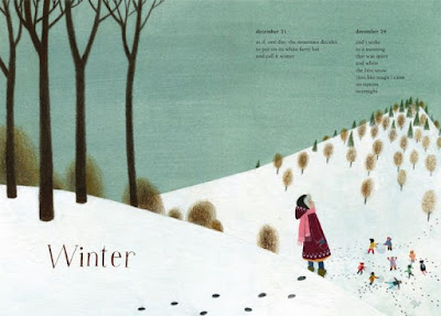 winter poetry children's book