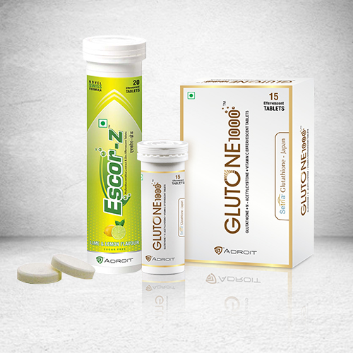 Glutone 1000 & Escor Z: Skin Brightening Supplements Review