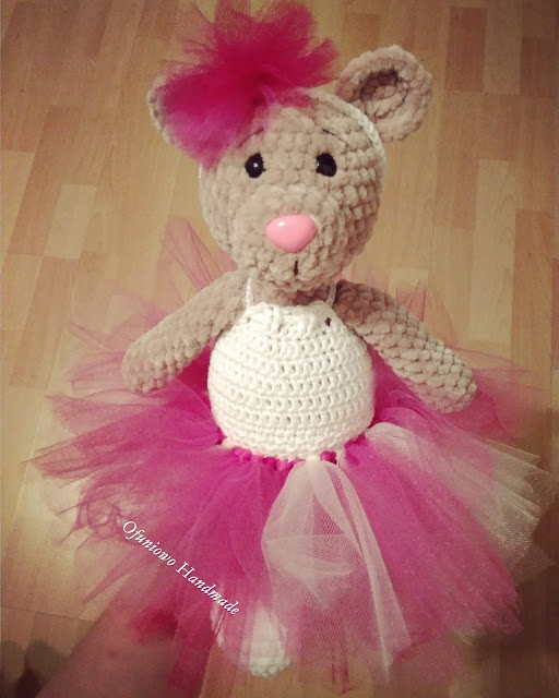 Crochet teddy - Ofuniowo Handmade