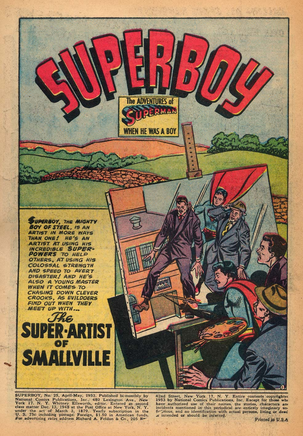 Superboy (1949) issue 25 - Page 2