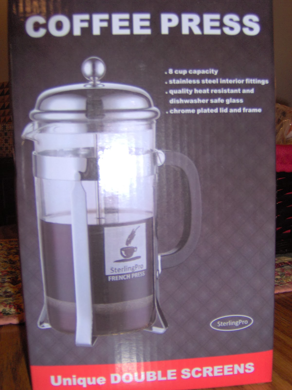 SterlingPro 8-Cup French Coffee Press