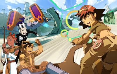 Oban Star Races Anime que no es anime
