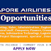 Jobs Opportunities at Singapore Airlines 2017