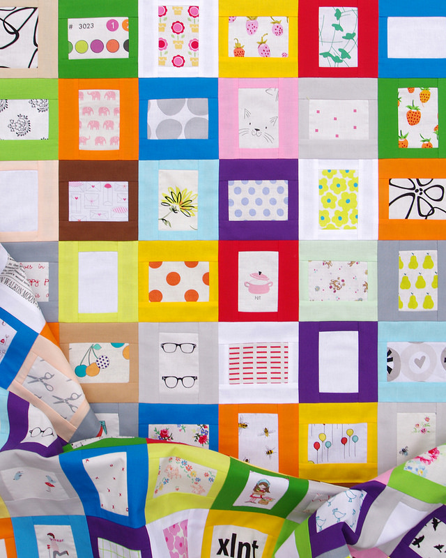 A Story Quilt and Tutorial | Red Pepper Quilts 2016