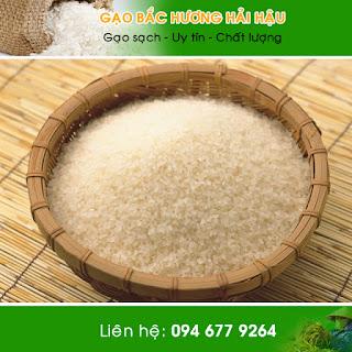 Đại lý cung cấp gạo bắc hương Hải Hậu - Nam Định