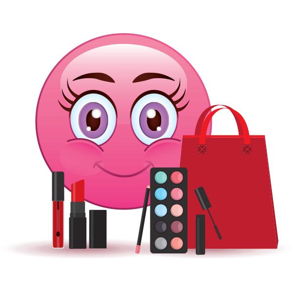 Cosmetics Queen Emoji