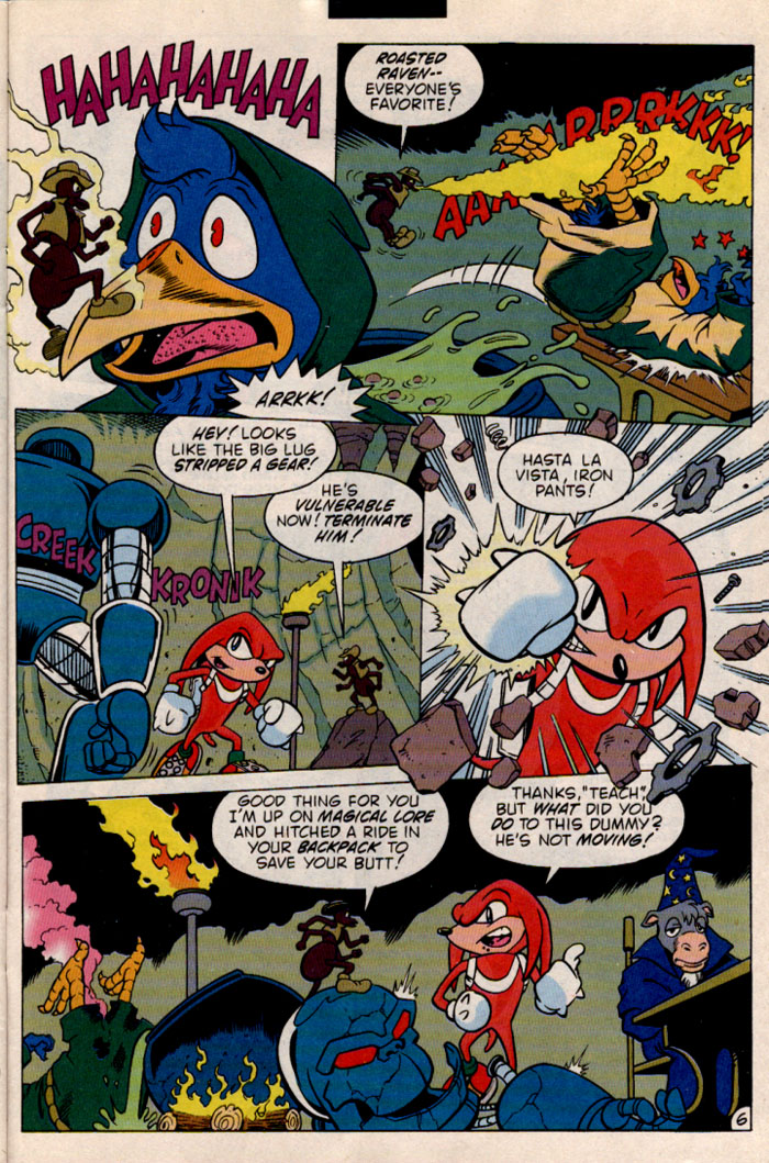 Read online Sonic The Hedgehog comic -  Issue #46 - 25