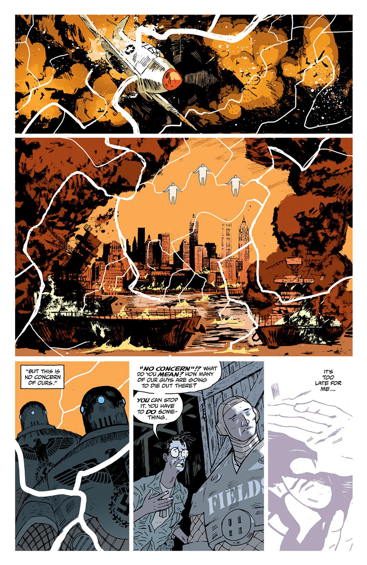 Read online Sledgehammer 44 comic -  Issue #2 - 17