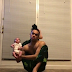 Oh my!!! See what this guy is doing with a baby
