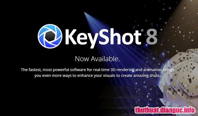 Download Luxion KeyShot 8.1.58 Full Cr@ck – Phần mềm đồ họa 3D