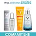 Amostras Grátis - Kit de Produtos da Vichy para cuidados anti-idade