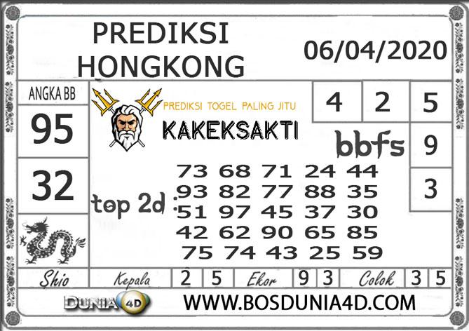 Prediksi Togel HONGKONG DUNIA4D 06 APRIL 2020