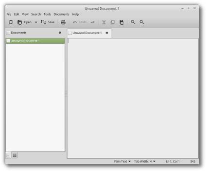 Xedit Linux Mint - X-Apps