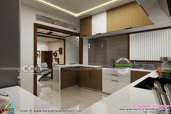 Modern interior design in Kerala